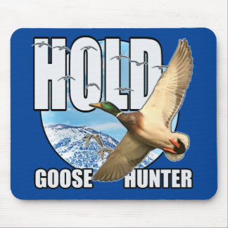 Goose hunter mouse pad