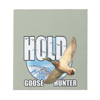 Goose hunter note pad