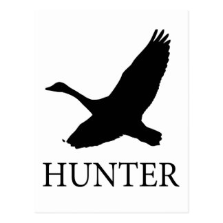 Goose Hunter Postcard