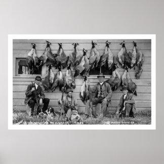 Goose Hunting Klamath Falls, Oregon Vintage Poster