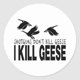 GOOSE HUNTING STICKERS