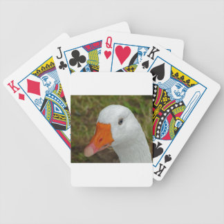 Goose Image Bicycle Playing Cards