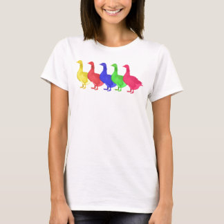 Goose in Five Colors T-Shirt