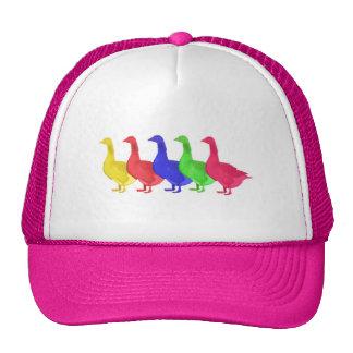 Goose in Five Colors Trucker Hat