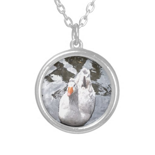 Goose in the Water Necklace
