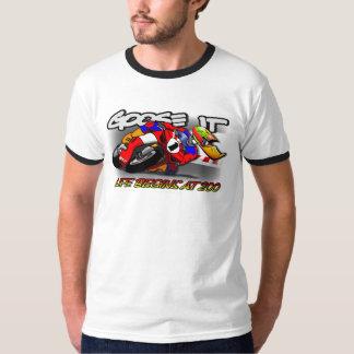 Goose IT LIFE BEGINS AT 200 Ringer T-Shirt