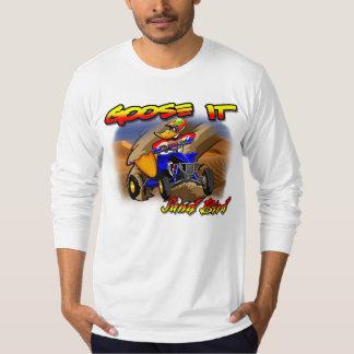 Goose It Sand Bird Quad Long Sleeve T-Shirt