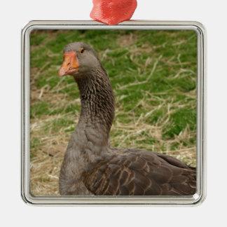 Goose Metal Ornament