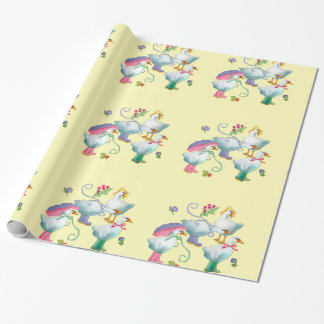 Goose 'N Boots Gift Wrap