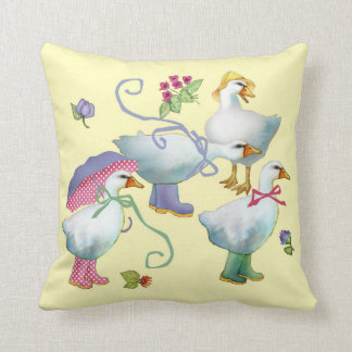 Goose 'N Boots Pillow