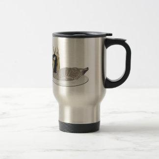 Goose-No Text Travel Mug