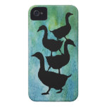Goose Pile! iPhone 4 Case