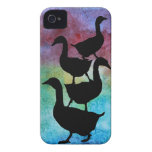 Goose Pile iPhone 4 Cover