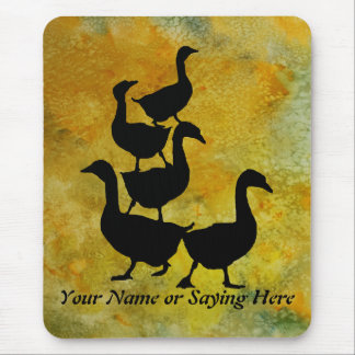 Goose Pile Mouse Pad