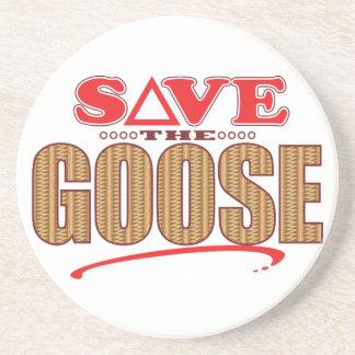 Goose Save Drink Coaster