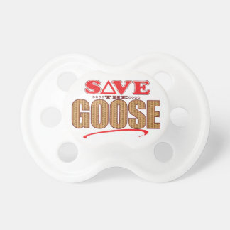 Goose Save Pacifier