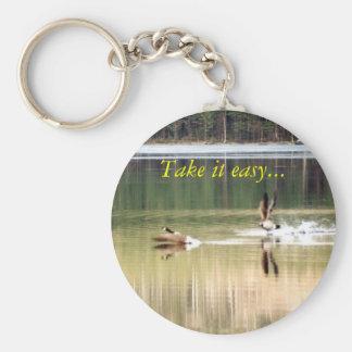 Goose - Take it easy... Keychain