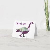 Goose Thank You Card