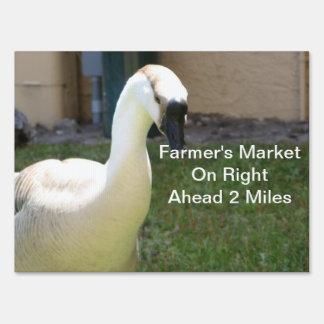 Goose Yard Sign