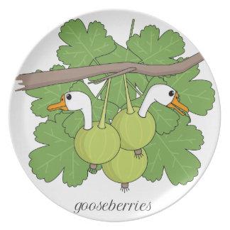Gooseberries Dinner Plate