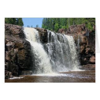 Gooseberry Falls, North Shore, Minnesota Card
