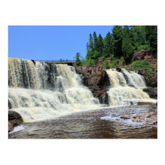 Gooseberry Falls, North Shore, Minnesota Postcard