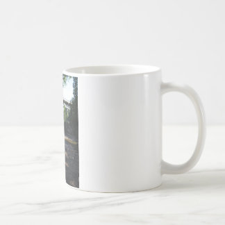 Gooseberry Falls - Stream running between trees Classic White Coffee Mug