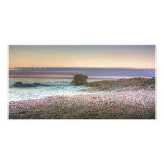 Gooseberry Lakeshore Custom Photo Card