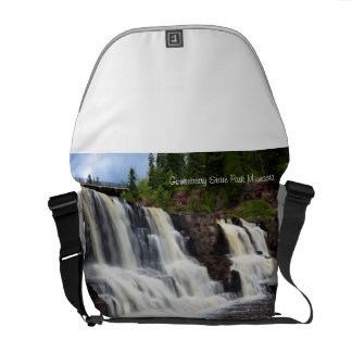 Gooseberry State Park Waterfalls Courier Bag
