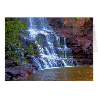 Gooseberry Waterfall Greeting Card