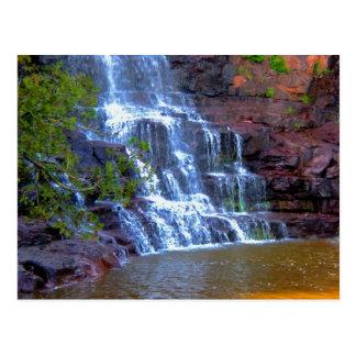 Gooseberry Waterfall Postcard