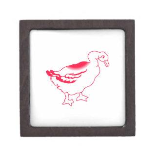 Goosey Gander Redwork Gift Box