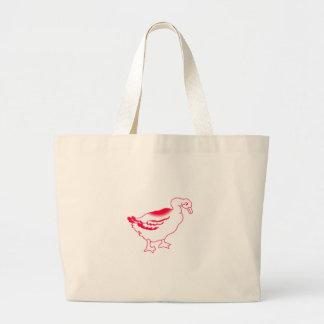 Goosey Gander Redwork Large Tote Bag