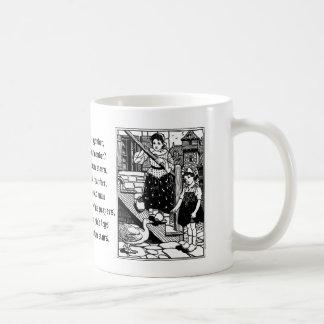 Goosey, Goosey, Gander Nursery Rhyme Coffee Mug