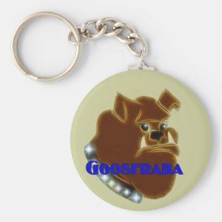 Goosfraba Bulldog Keychain