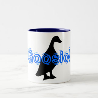 Goosio! Two-Tone Coffee Mug