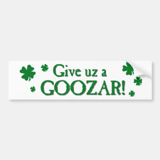 Goozar Bumper Sticker