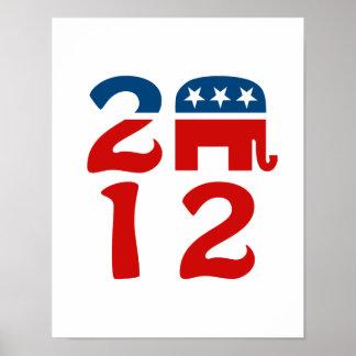 GOP 2012 POSTER