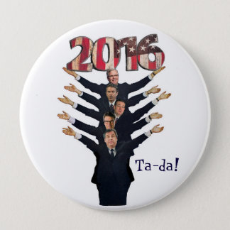 GOP 2016 Candidates for President Pinback Button