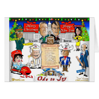 GOP and Tea Party Christmas Card
