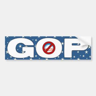 GOP - Anti Barack Obama Bumper Sticker