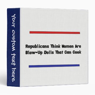 GOP Blow-Up Dolls Binder