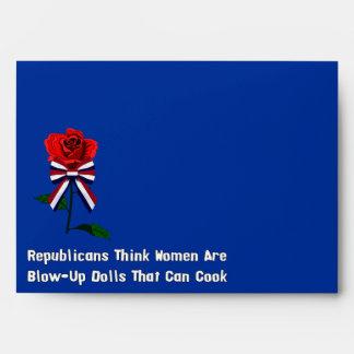 GOP Blow-Up Dolls Envelope