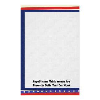 GOP Blow-Up Dolls Stationery