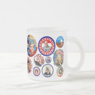 GOP Candidates for President 2016 Frosted Glass Coffee Mug