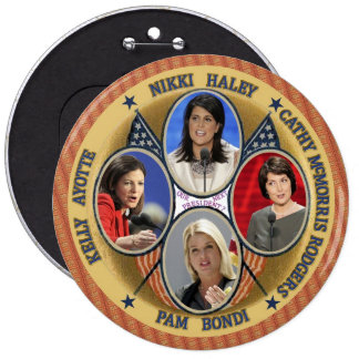 GOP Candidates for President 2016 Pinback Button