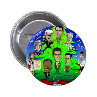 GOP Christmas Tree 2 Inch Round Button
