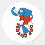 GOP Circass Sticker