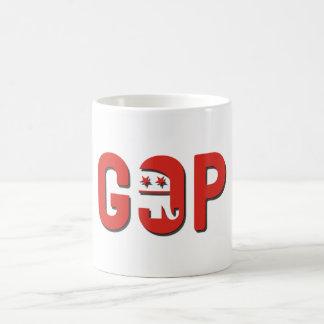 GOP CLASSIC WHITE COFFEE MUG