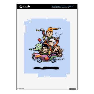GOP Clown Car '16 Decals For iPad 3
